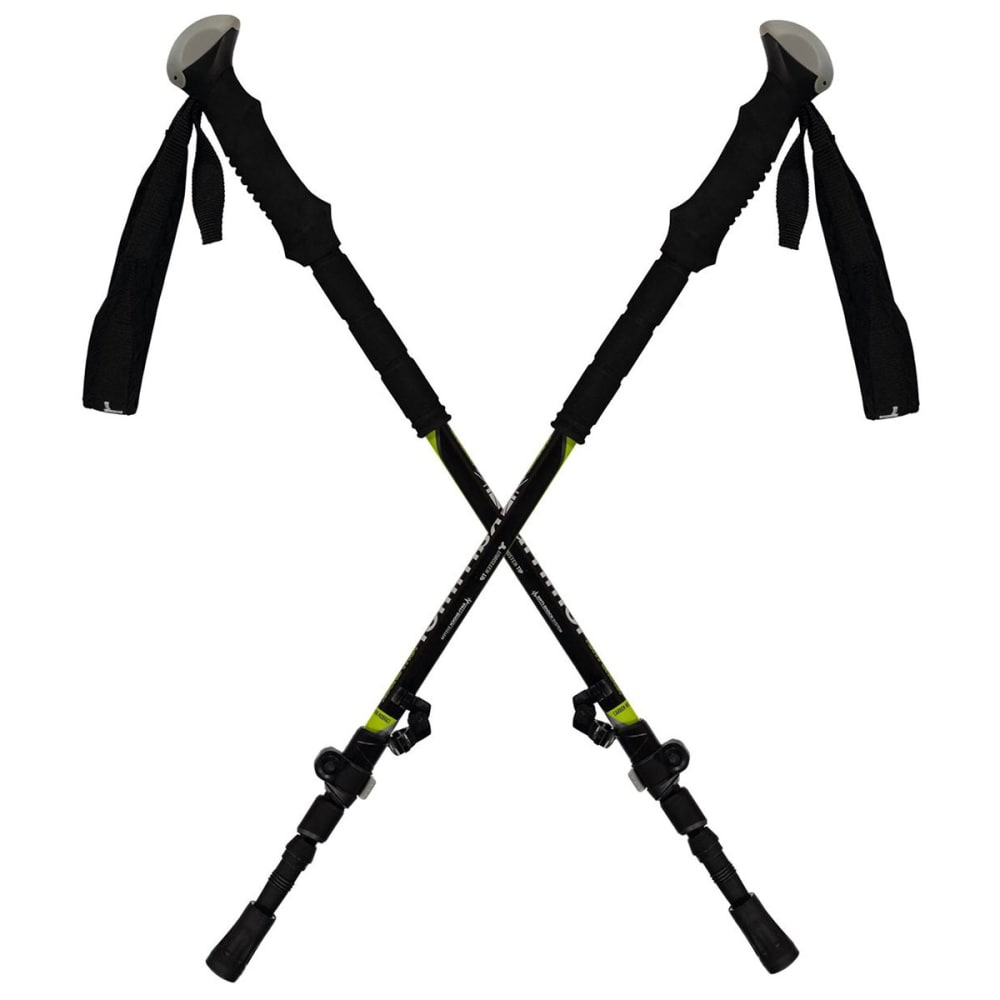 KARRIMOR Carbon Anti Shock Poles - BLACK/GREEN