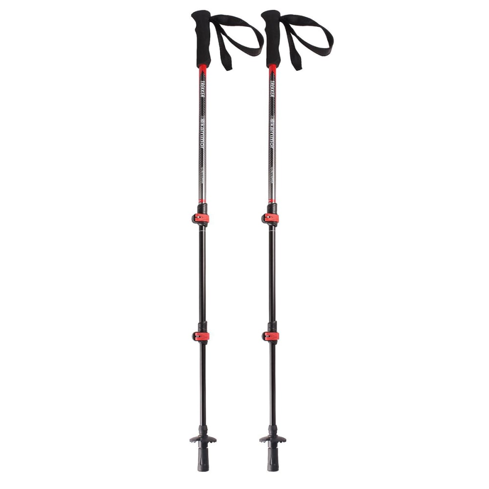KARRIMOR Trekker Hiking Poles - BLACK