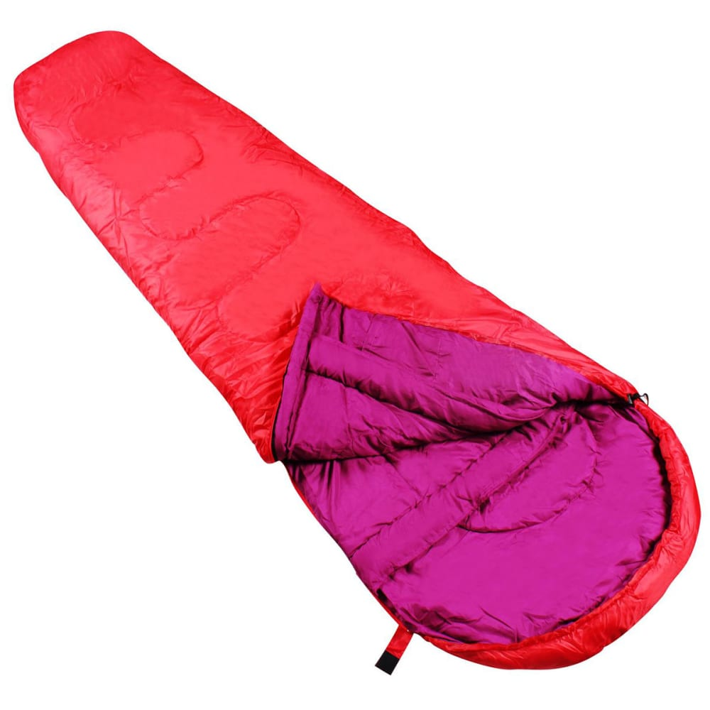 GELERT Elen 300 Mummy Sleeping Bag - RASPBERRY