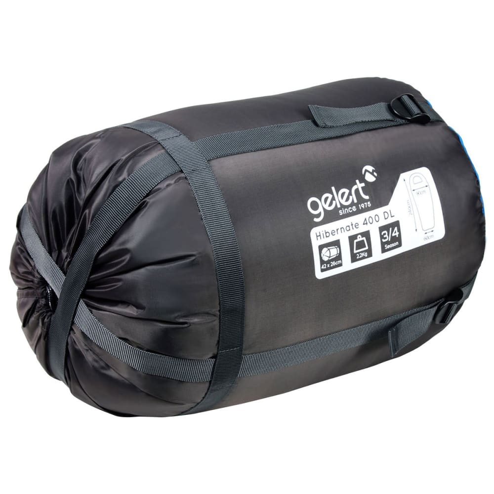 GELERT Hibernate 400 Sleeping Bag - Director Blue