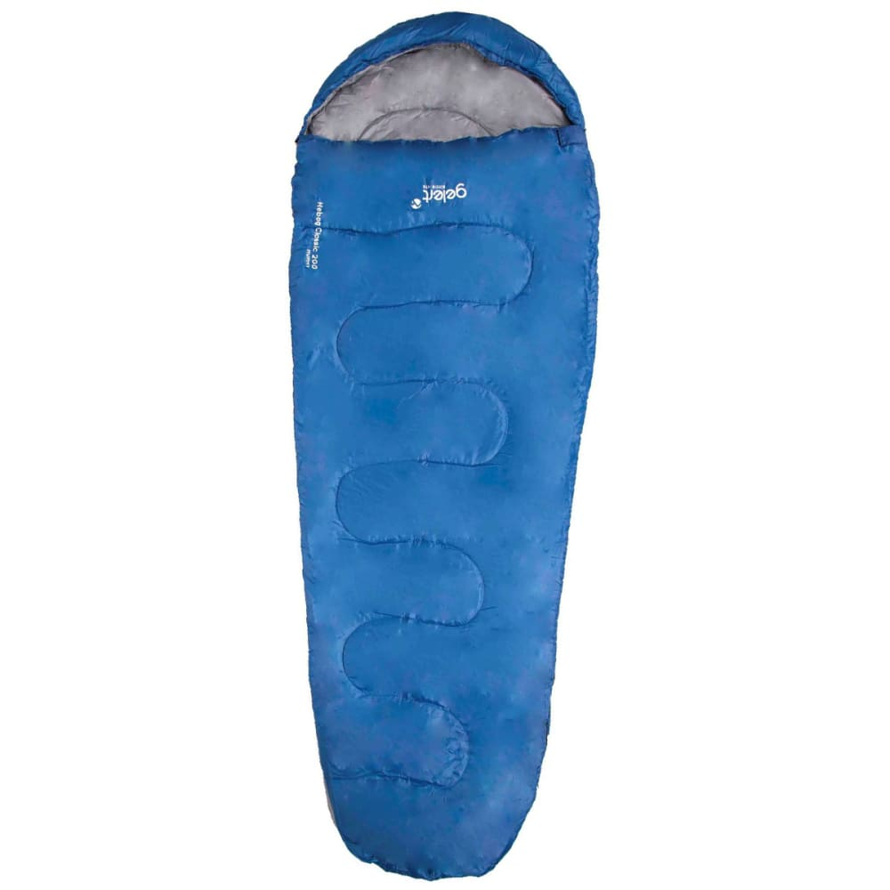 GELERT Hebog Mummy Sleeping Bag - BLUE
