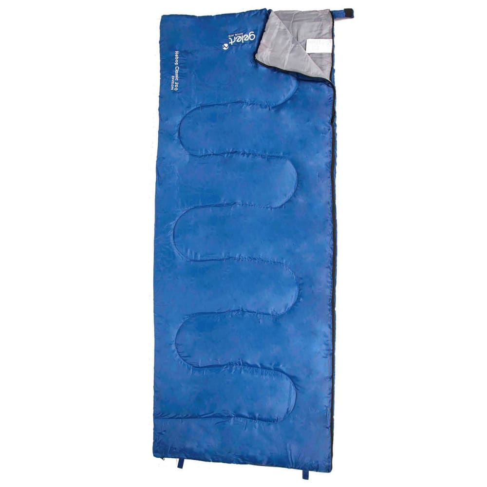GELERT Hebog Rectangular Sleeping Bag - BLUE
