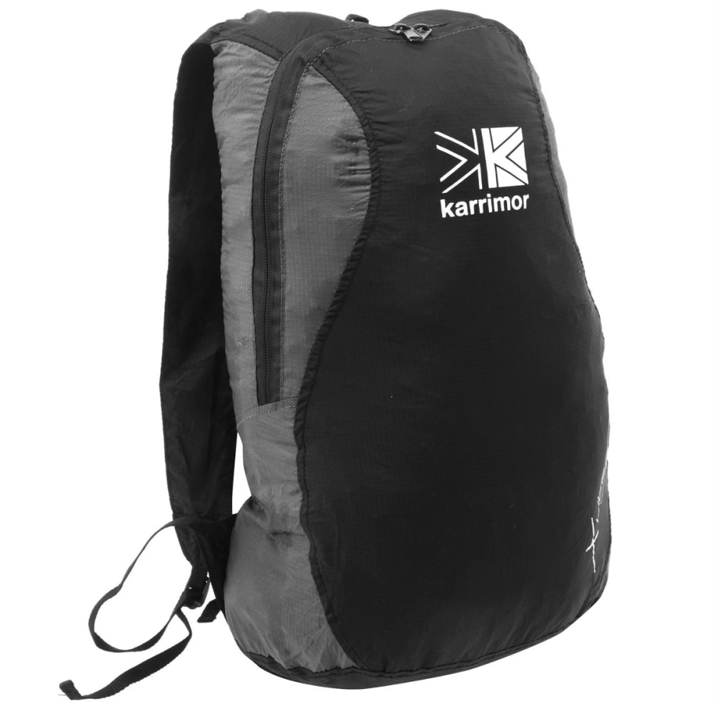 KARRIMOR Packable Rucksack - BLACK/CHARCOAL