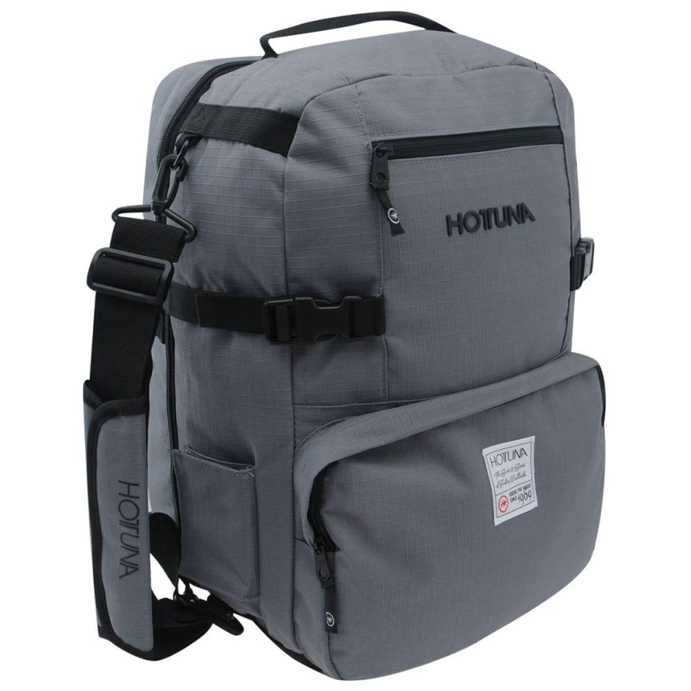 HOT TUNA Mini Travel Backpack - CHARCOAL/BLACK