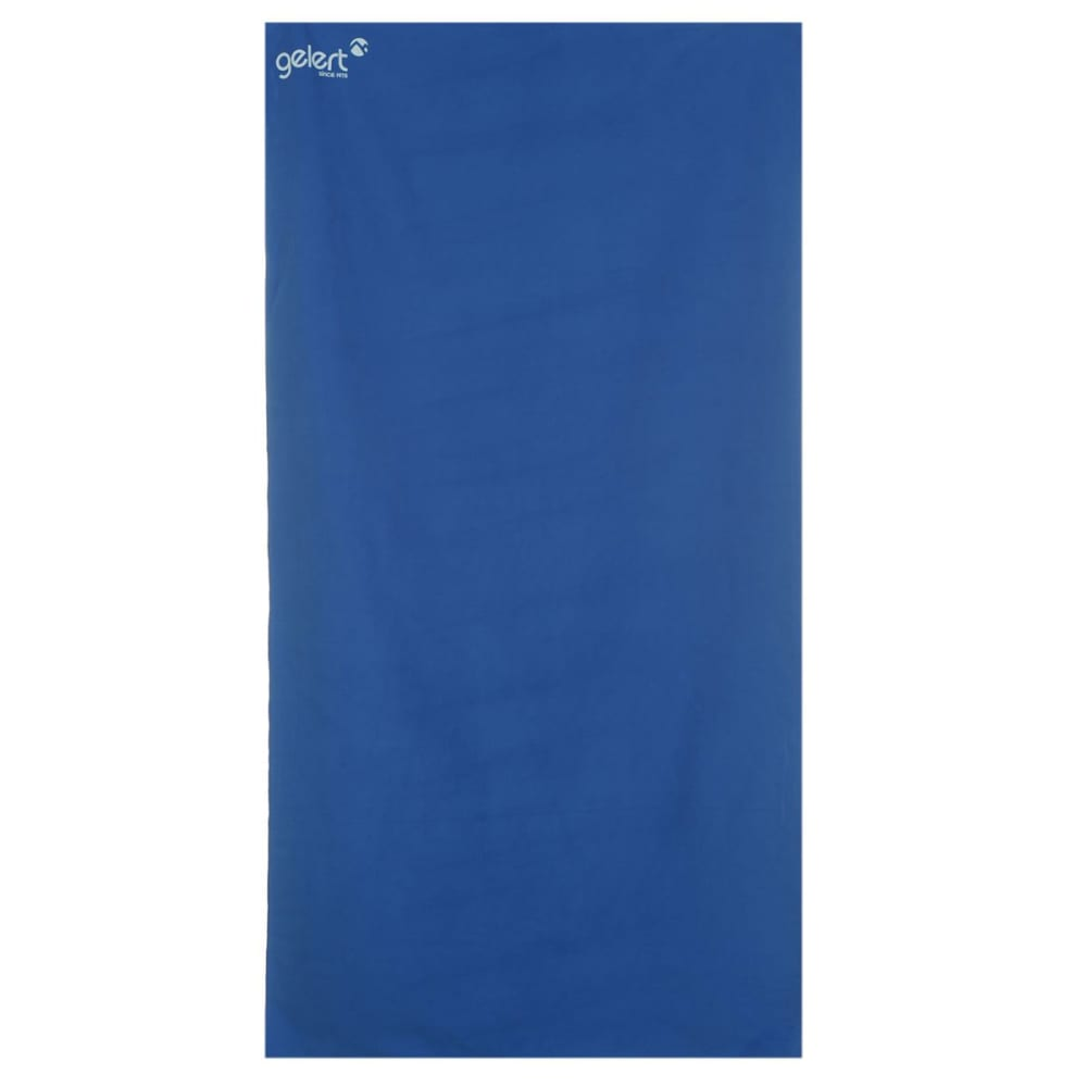 GELERT Soft Towel, Large - BLUE