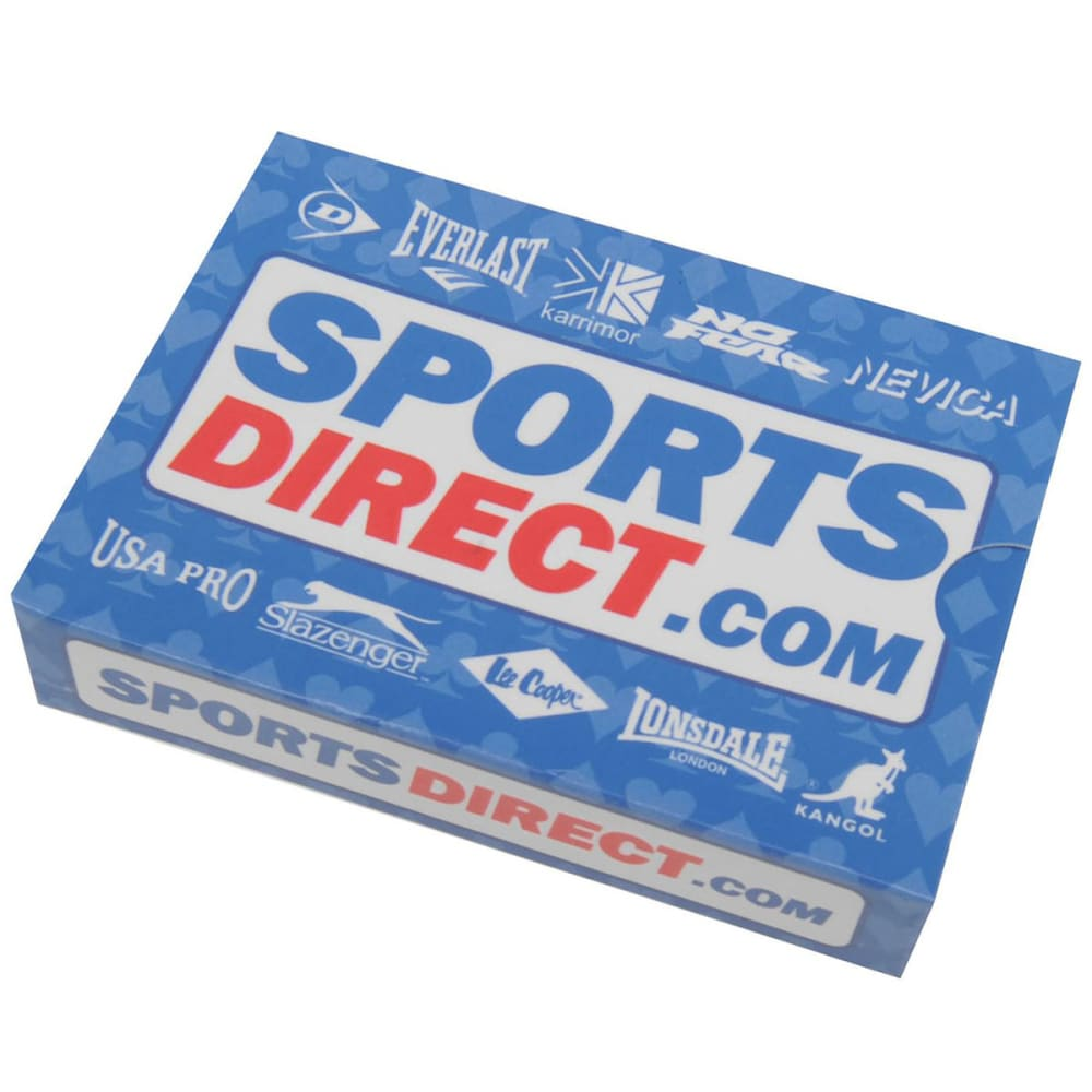 SPORTS DIRECT Playing Cards - Blue/White/Red