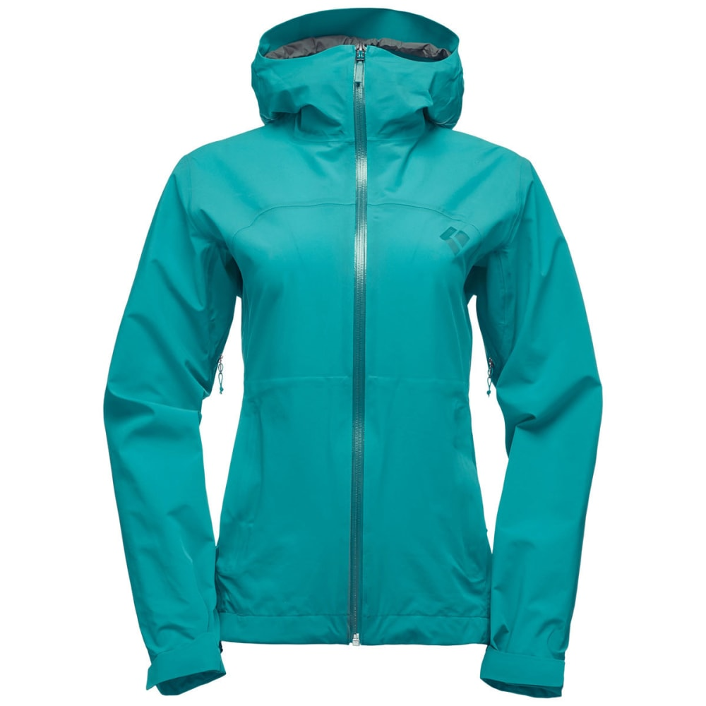 BLACK DIAMOND Women's StormLine Stretch Rain Shell - EVERGREEN
