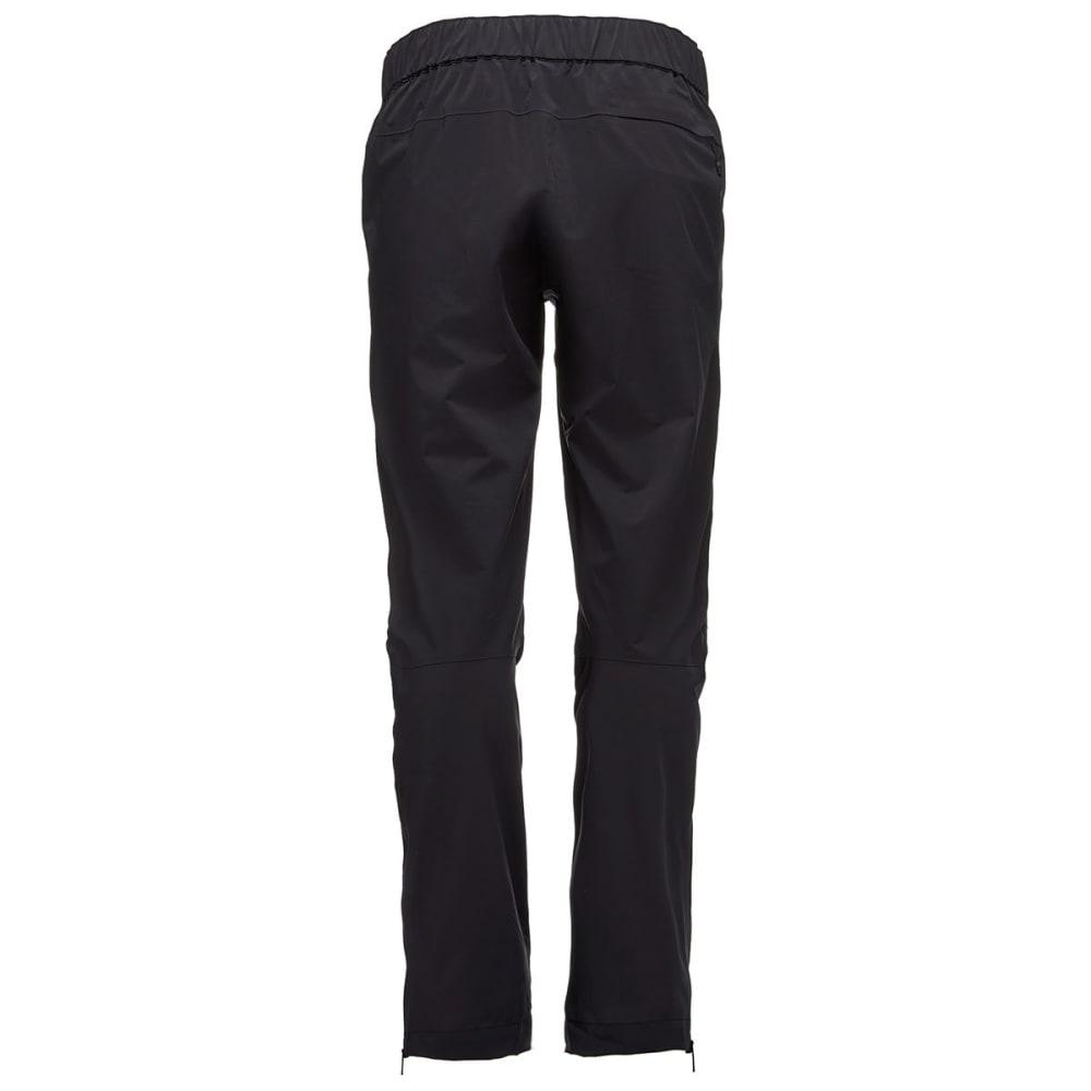 BLACK DIAMOND Women's StormLine Stretch Rain Pants - BLACK