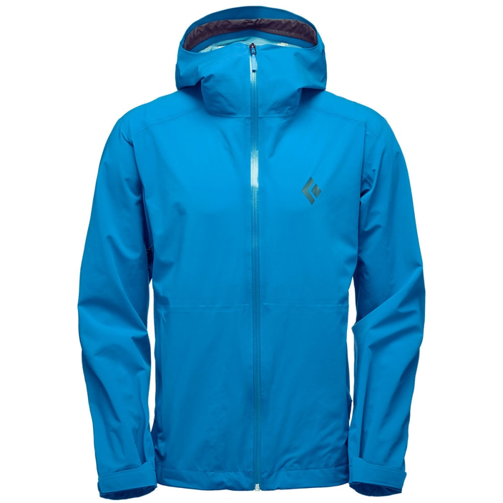 BLACK DIAMOND Men's StormLine Stretch Rain Shell Jacket - KINGFISHER