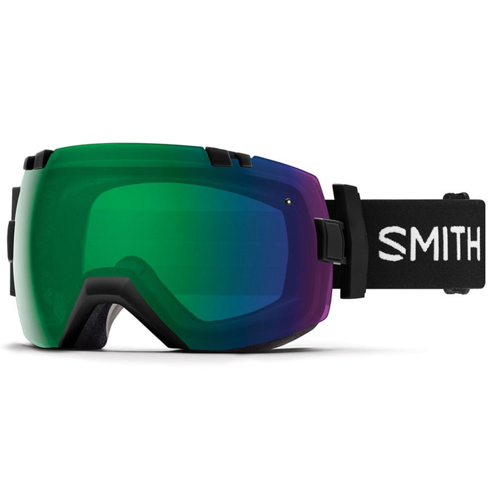 SMITH I/OX Snow Goggles - BLK/CP GREEN MIRROR