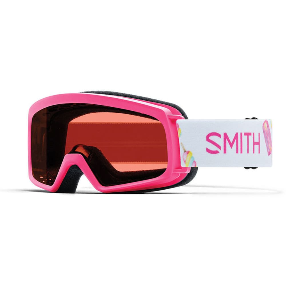 SMITH Youth Rascal Snow Goggles - PINK POPSICLES/RC 36