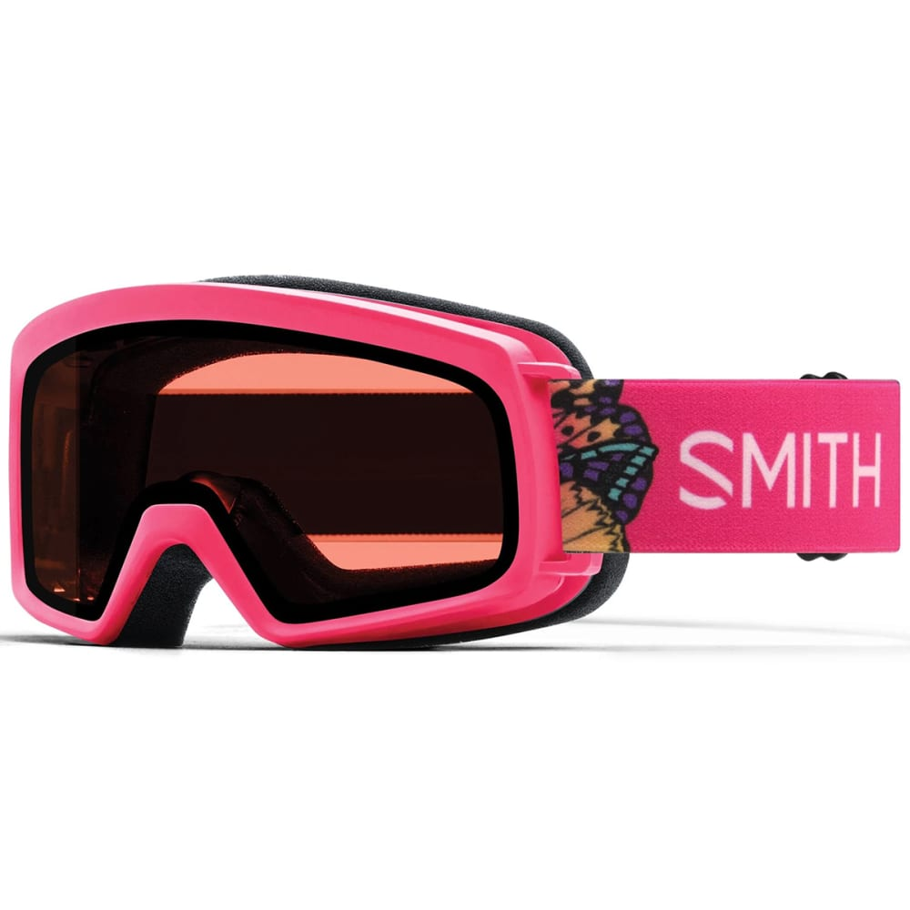 SMITH Youth Rascal Snow Goggles - CRZY PINKBUTTERFLIES