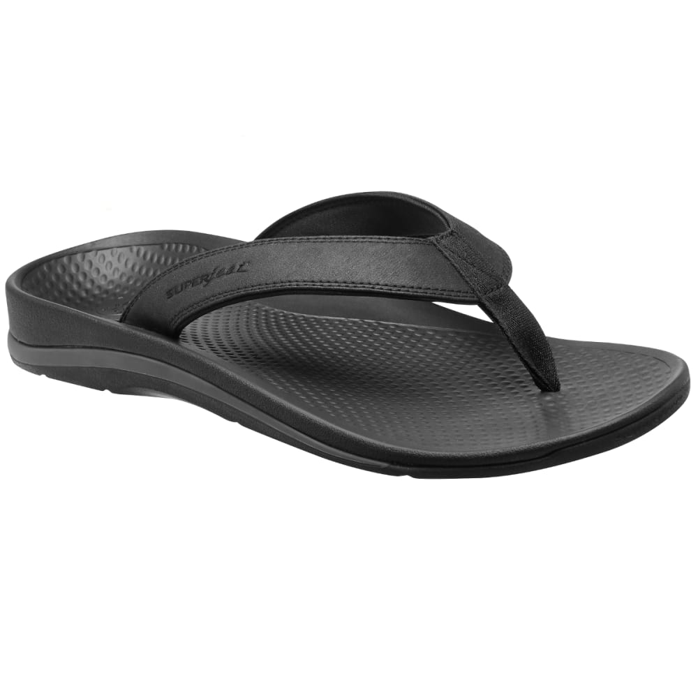 SUPERFEET Men's Outside 2 Flip Flops - IRON-001