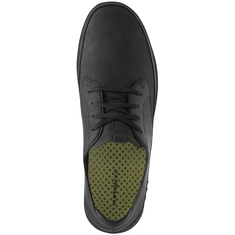 SUPERFEET Men's Ross Kangaroo Casual Shoes - BLACK-029