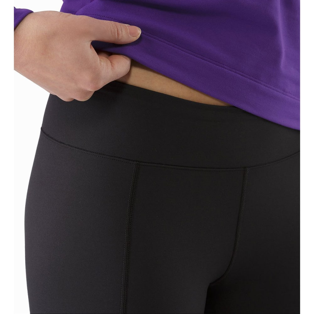 ARC'TERYX Women's Rho LT Base Layer Bottoms - BLACK