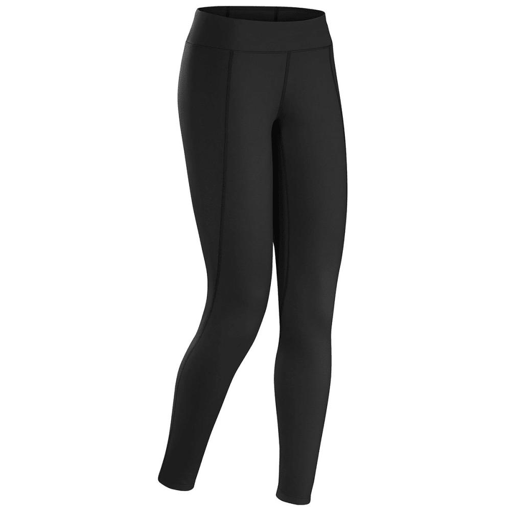 ArcTeryx Women's Rho Lt Base Layer Bottoms - Black - Size XL thumbnail