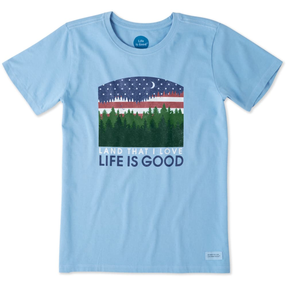 Life Is Good Women's Land That I Love Crusher Tee - Size XS