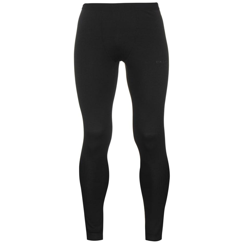 CAMPRI Men's Thermal Baselayer Tights - BLACK