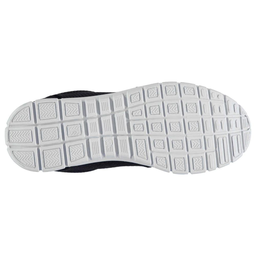 FABRIC Women's Mercy Running Shoes - BLACK/WHITE
