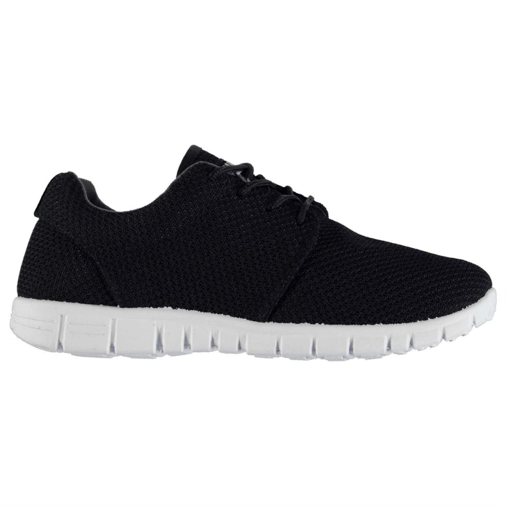 FABRIC Women's Mercy Running Shoes - BLACK/WHITE
