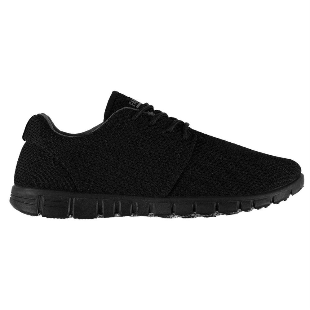 FABRIC Women's Mercy Running Shoes - BLACK/BLACK
