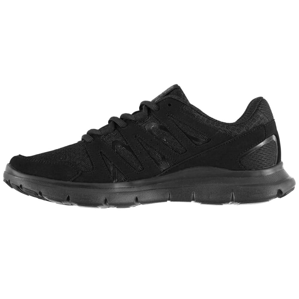 KARRIMOR Boys' Duma Running Shoes - BLACK/BLACK