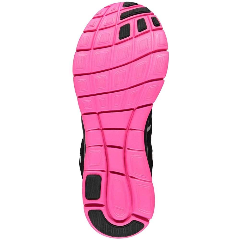 KARRIMOR Girls' Duma Running Shoes - BLACK/PINK