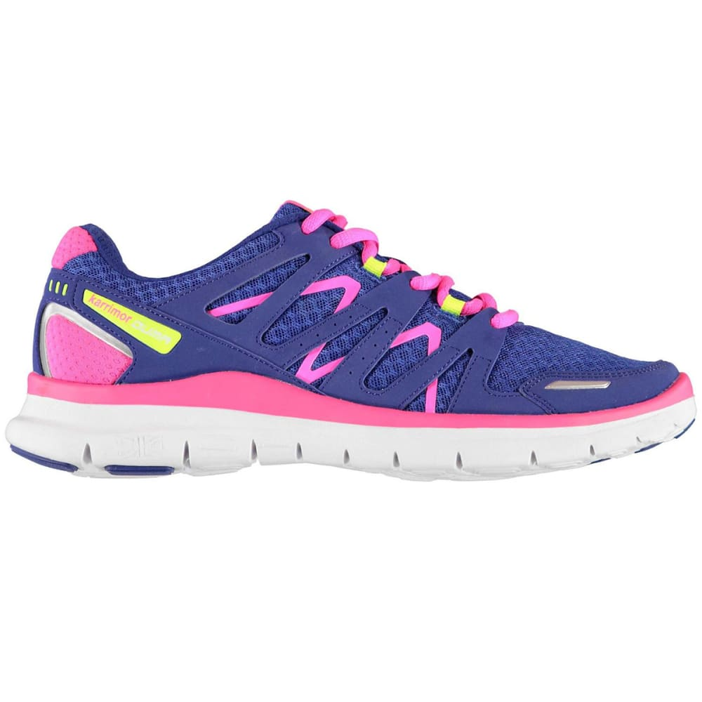 KARRIMOR Girls' Duma Running Shoes - BLUE/PINK