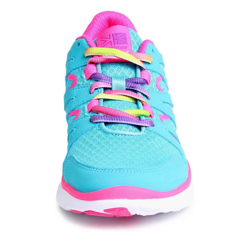 KARRIMOR Girls' Duma Running Shoes - TEAL/PINK
