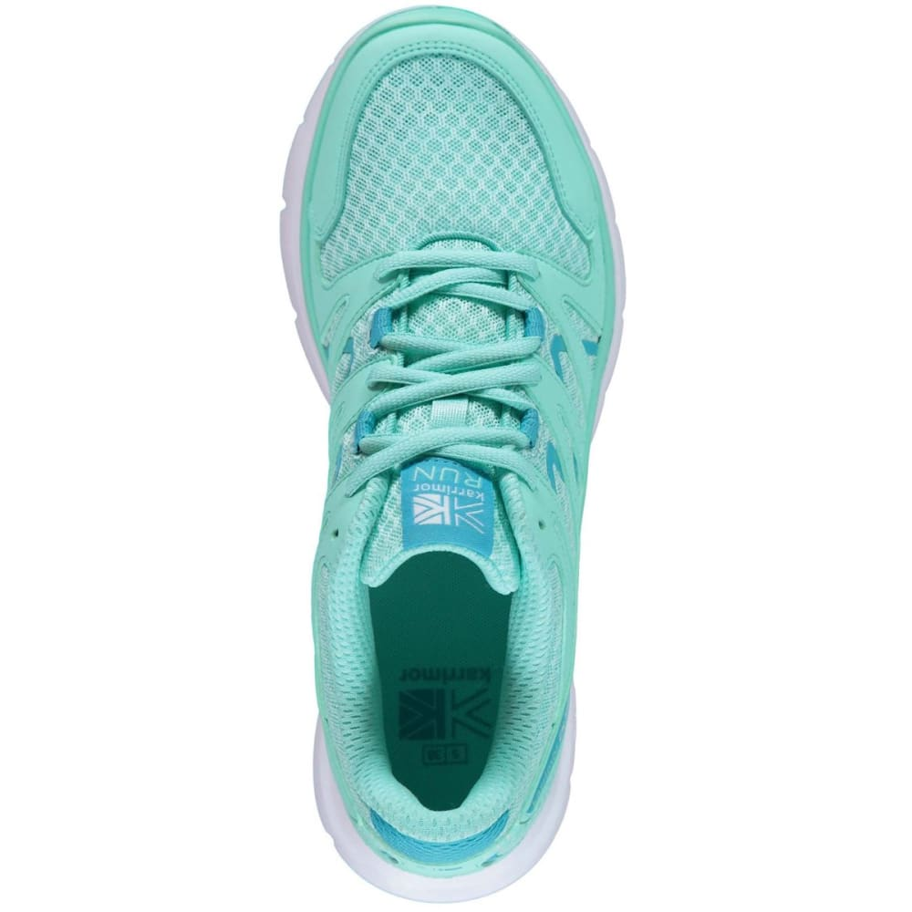 KARRIMOR Girls' Duma Running Shoes - Turq/Blue