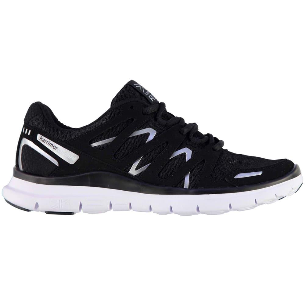 KARRIMOR Women's Duma Running Shoes - BLACK/SILVER