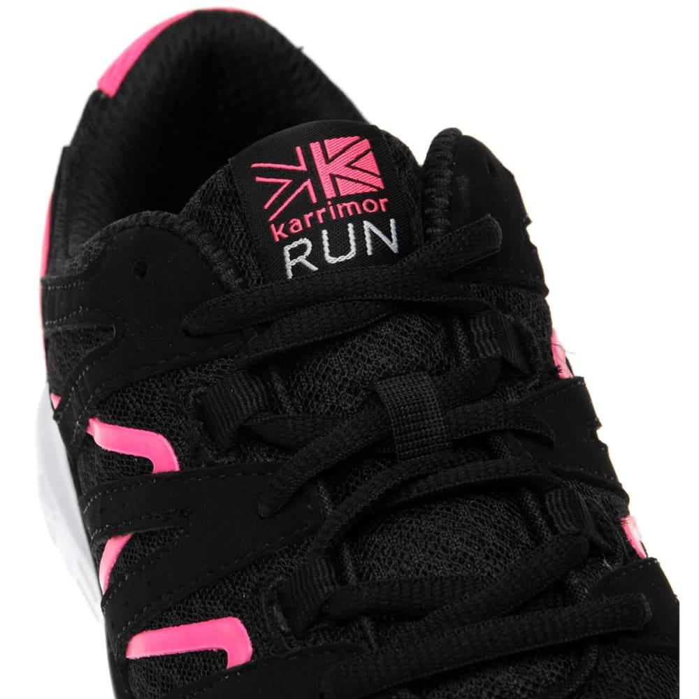 KARRIMOR Women's Duma Running Shoes - BLACK/PINK