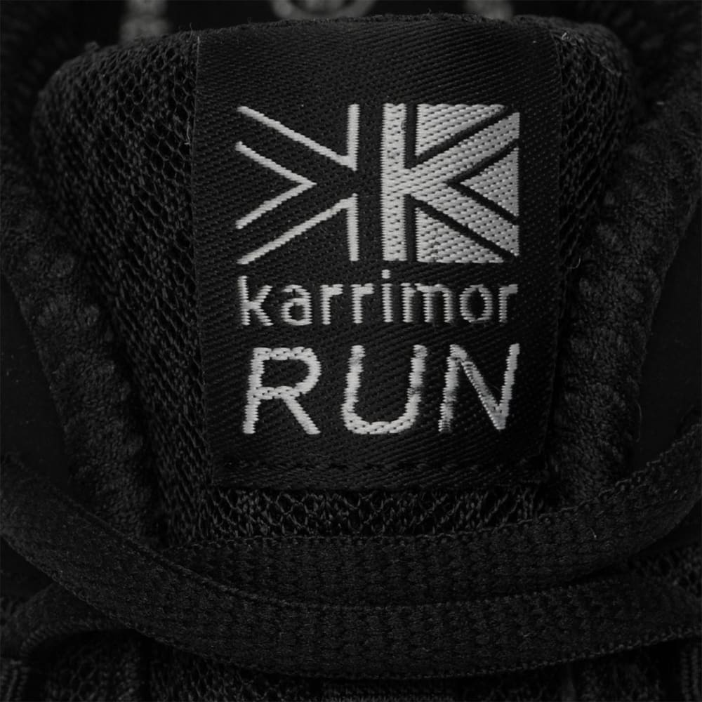 KARRIMOR Men's Duma Running Shoes - BLACK/SILVER