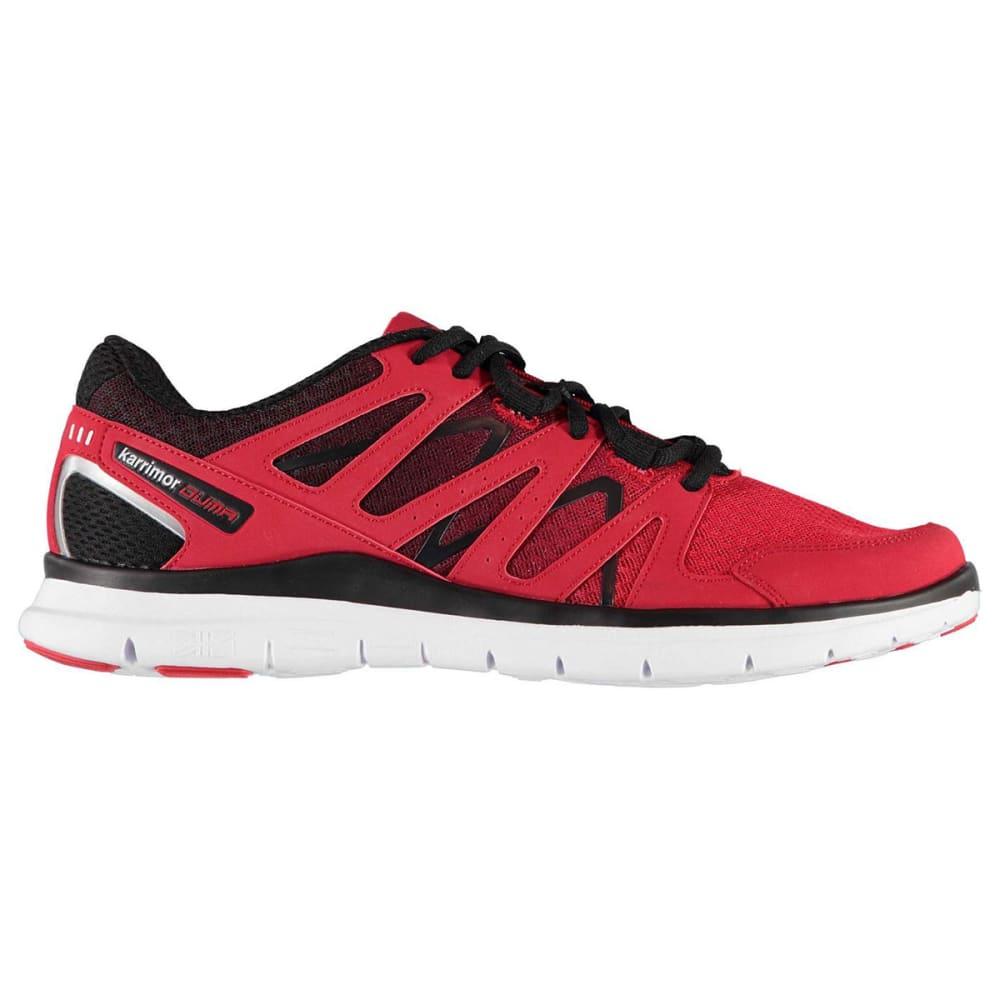 KARRIMOR Men's Duma Running Shoes - RED/BLACK