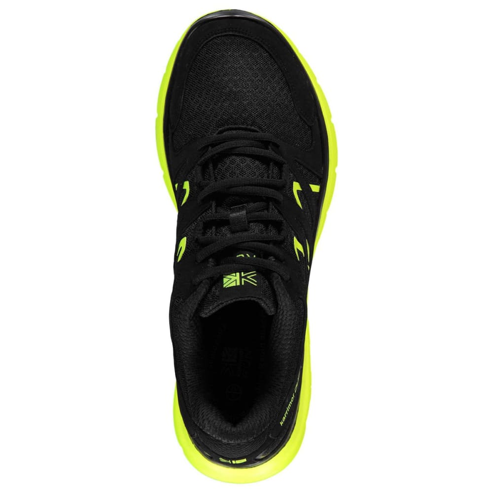 KARRIMOR Men's Duma Running Shoes - BLACK/FLUO