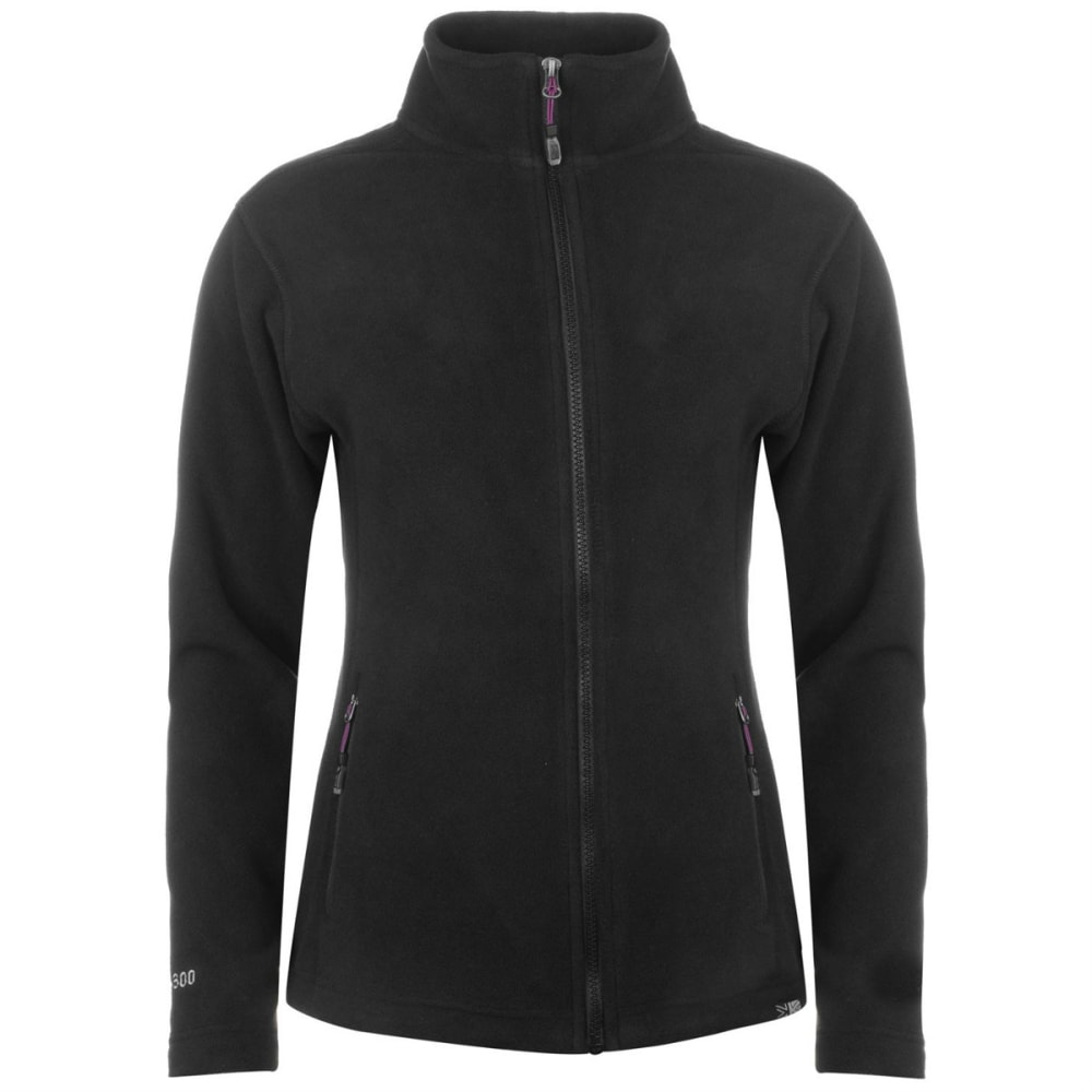 KARRIMOR Women's Fleece Jacket - BLACK