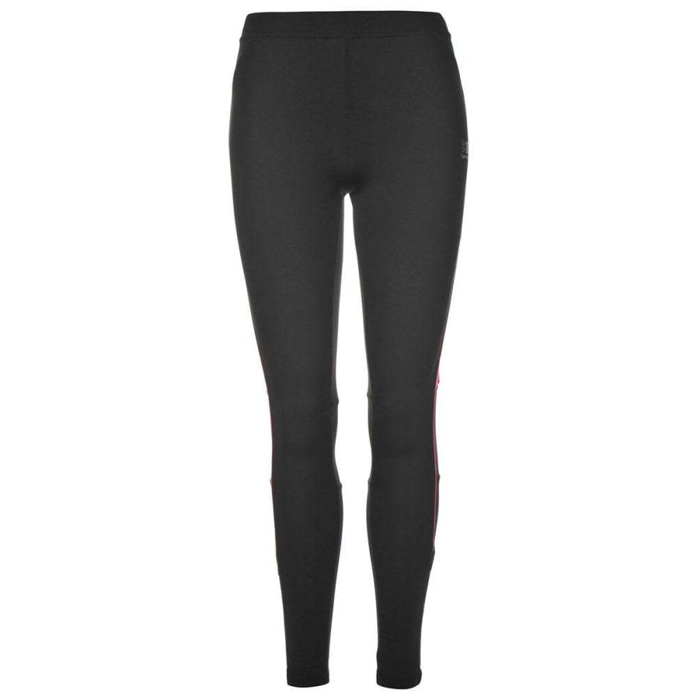 KARRIMOR Women's Running Tights - BLACK/PINK