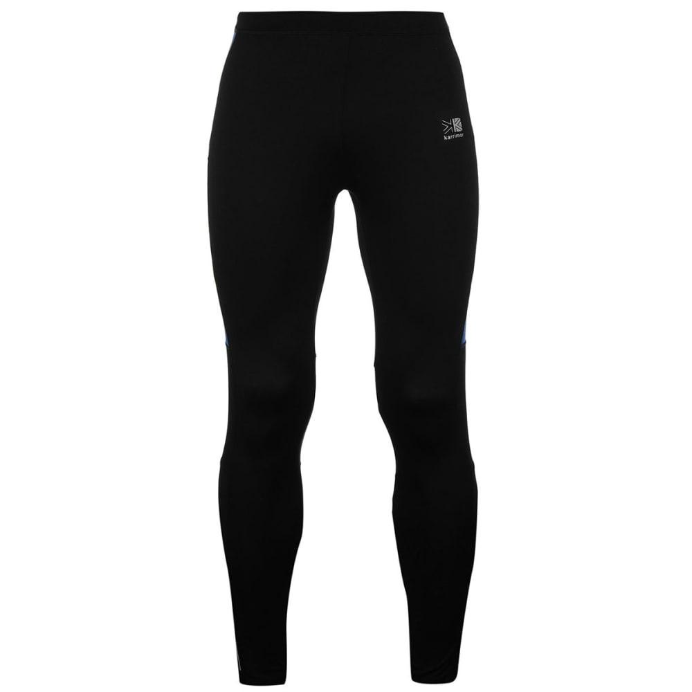 KARRIMOR Men's Running Tights - BLACK/BLUE