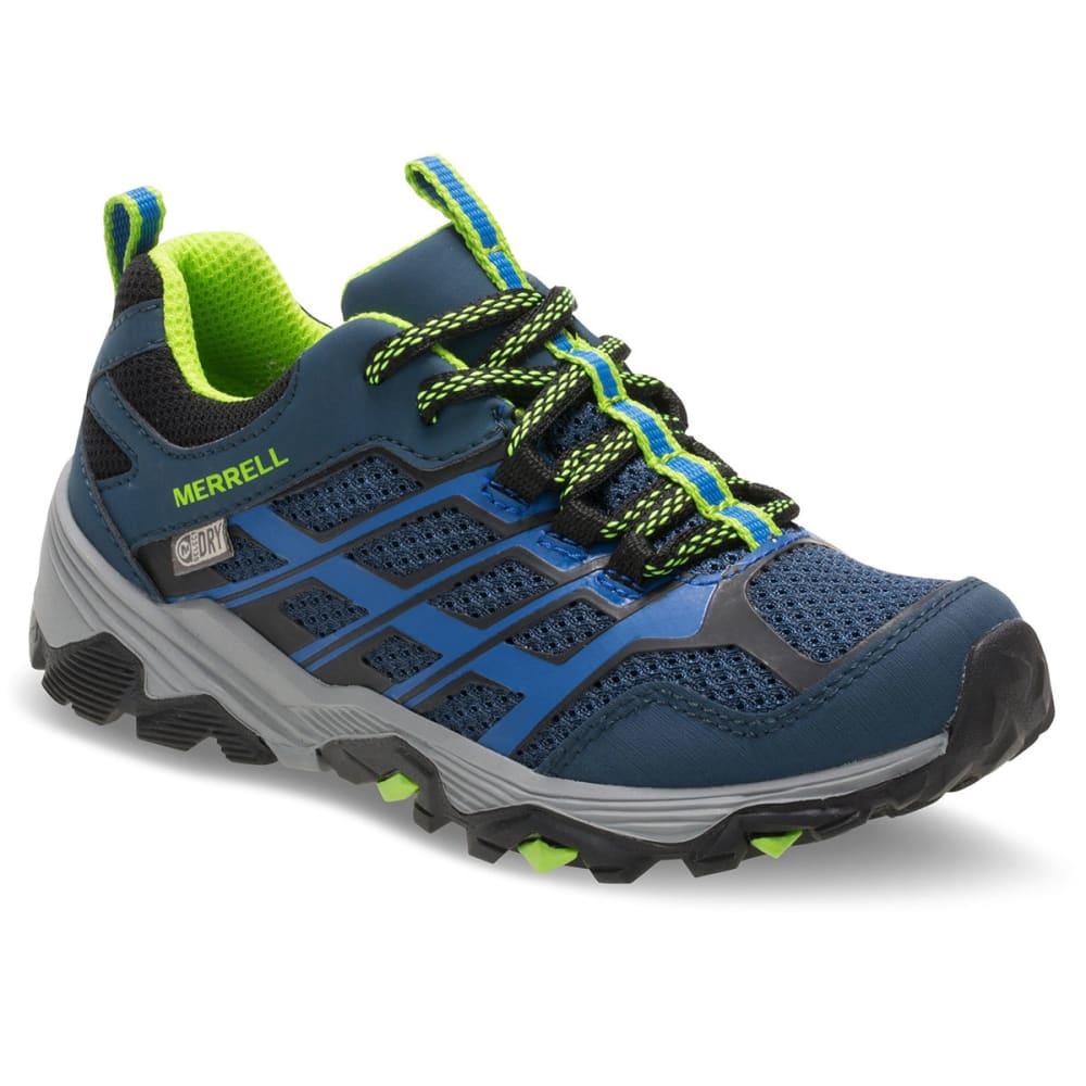 MERRELL Big Boys' Moab FST Low A/C Waterproof Hiking Shoes 3.5