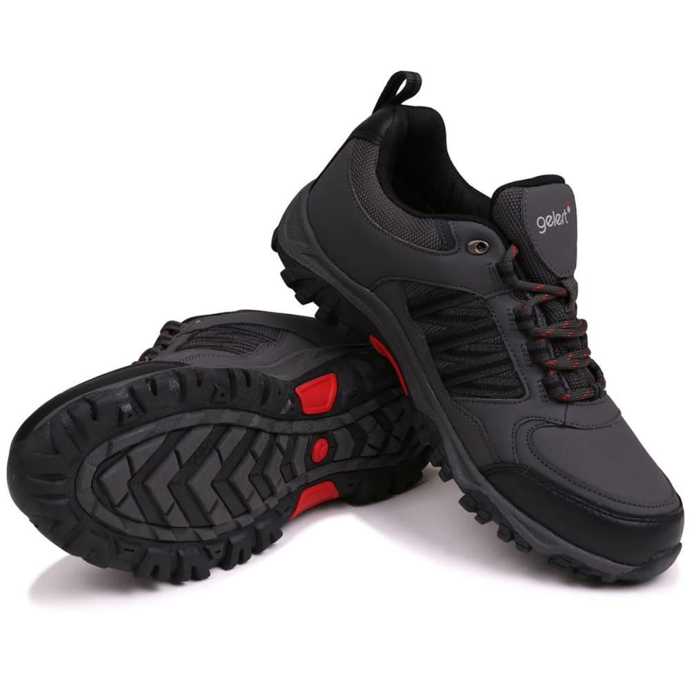 GELERT Men's Horizon Waterproof Low Hiking Shoes - CHARCOAL