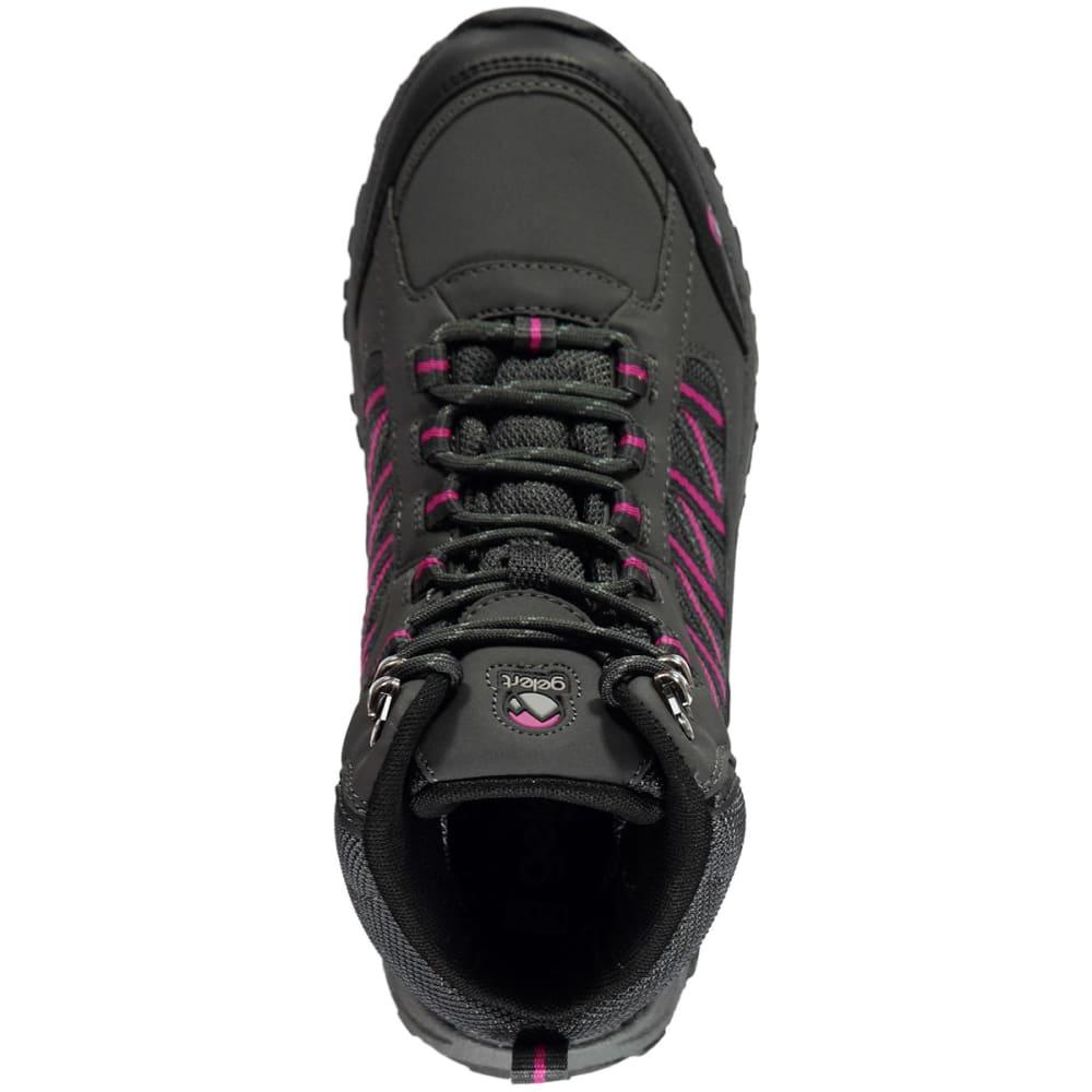 GELERT Women's Horizon Waterproof Mid Hiking Boots - CHARCOAL