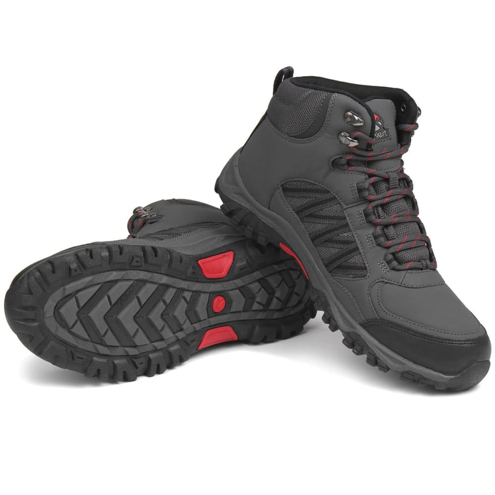 GELERT Men's Horizon Waterproof Mid Hiking Boots - CHARCOAL