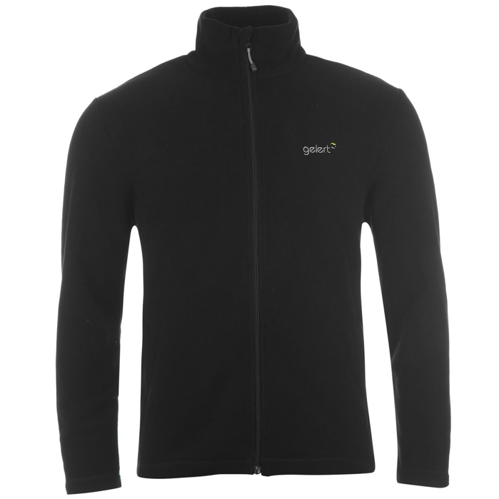 GELERT Men's Ottawa Fleece Jacket - BLACK