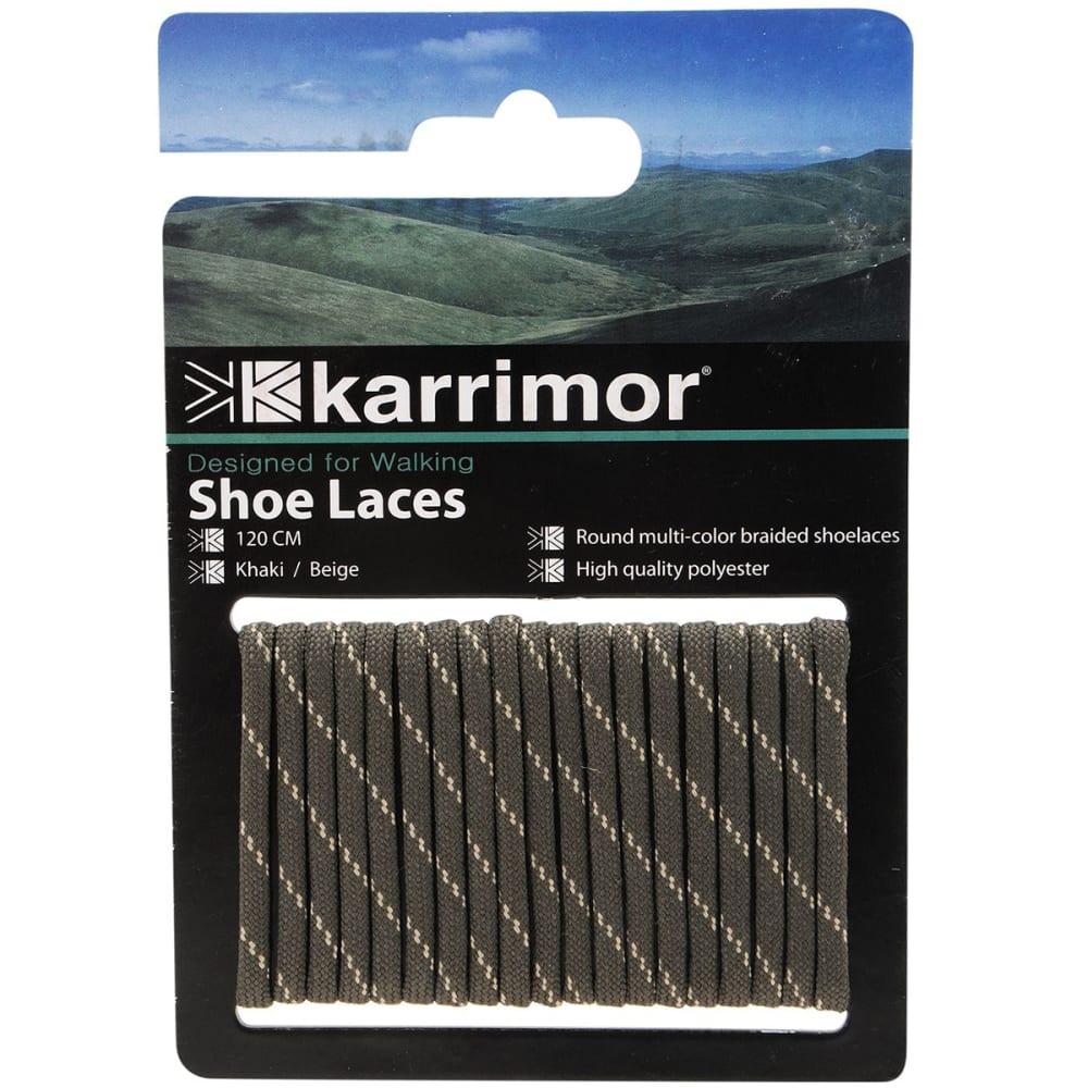 KARRIMOR Round Boot Laces - KHAKI/BEIGE  120 CM