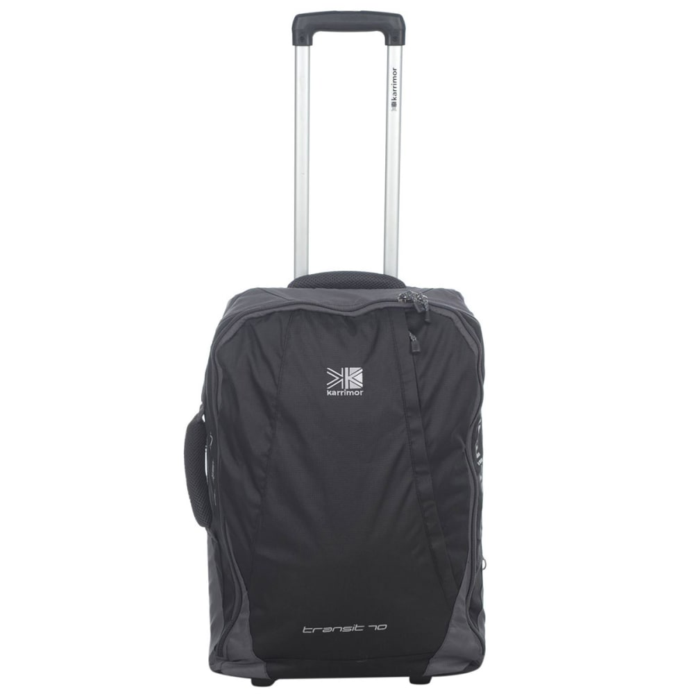 KARRIMOR Transit 70L Wheeled Suitcase - BLACK
