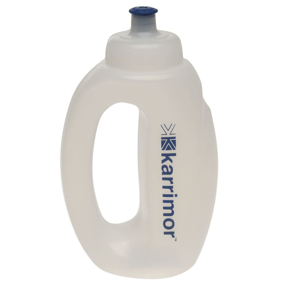 KARRIMOR Running Water Bottle, Medium - WHITE/NAVY