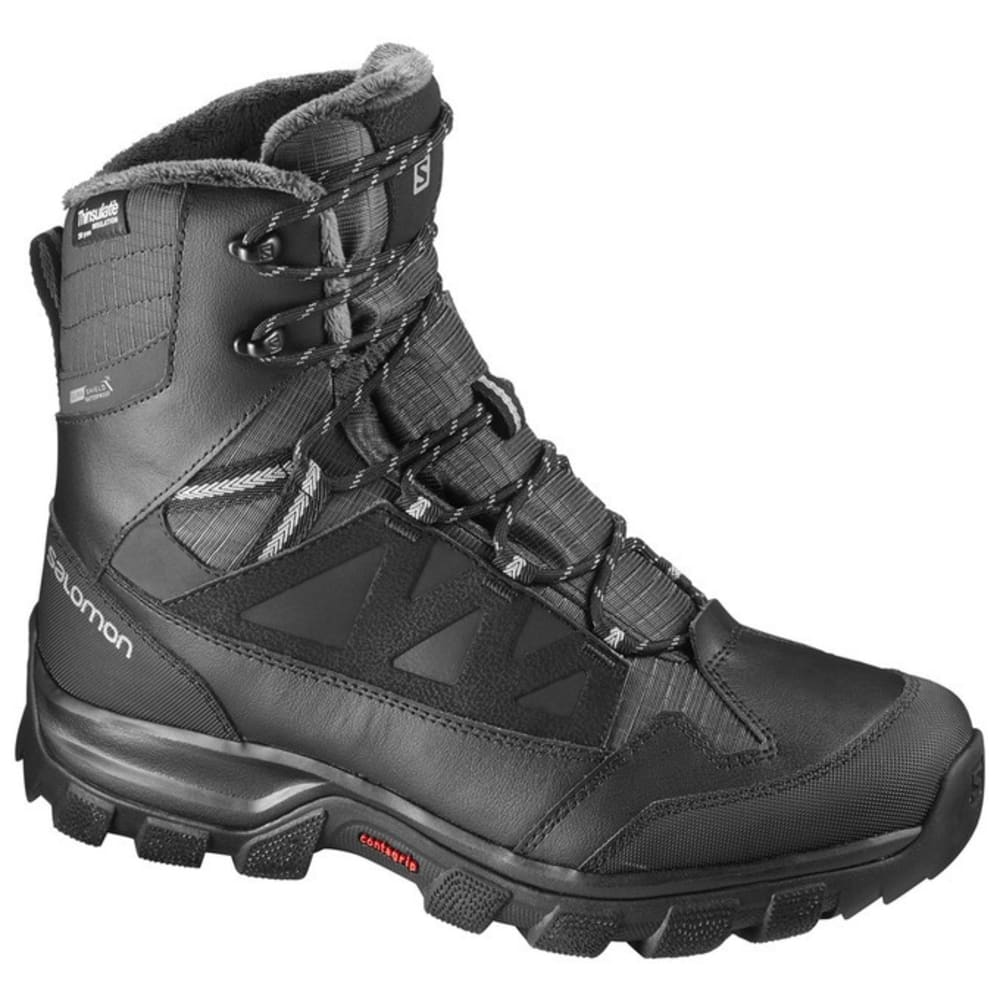 SALOMON Women's Chalten TS CSWP Winter Boots - BLACK