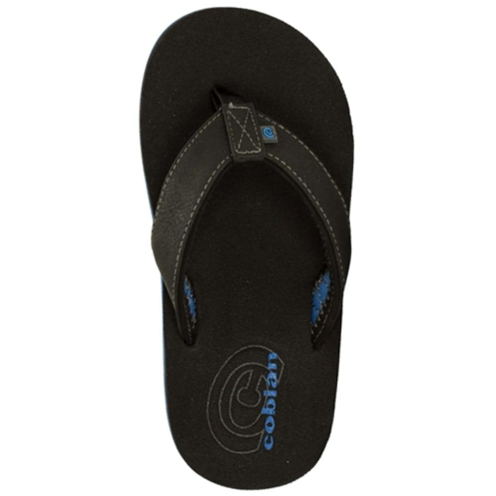 COBIAN Boys' Floater Jr. Sandals - BLACK