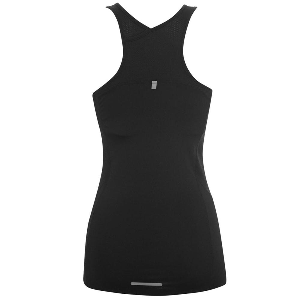 KARRIMOR Women's Long Bra Top - BLACK