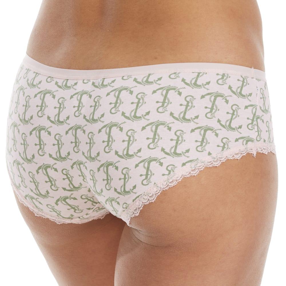 RENE ROFE Women's Boy Are You Cute Boyleg Underwear - H370PG-ANCHOR PRINT